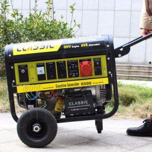 Bison (Chine) BS7500J (H) de long temps d'exécution du générateur de démarrage électrique