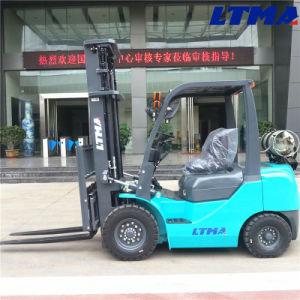 El chino nuevo producto de la especificación de la carretilla elevadora gas 2 Ton.