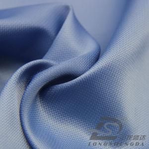 50d 240t Tecidos Jacquard listrado 100% poliéster Pongées Fabric (YM53063I)