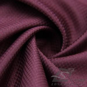 50d 340t Tecidos Jacquard Plaid 100% de tecido de poliéster (XO53209ID)