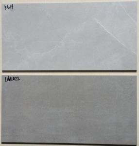 De grijze Tegel van de Muur van het Porselein van het Cement van de Kleur Rustieke voor Decoratieve Muur