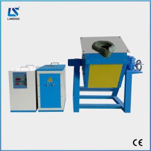 Pequeno forno de fusão por indução electrónica de potência para metais
