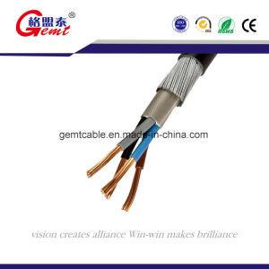 O PVC/Swa/PVC cabo de alimentação blindados 0.6/1kv