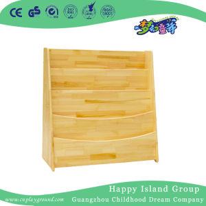 学校の経済的な木の層3つ本のキャビネット(HG-4609)
