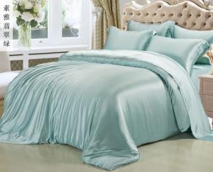 極度の柔らかく、快適な絹のシーツ