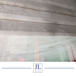 イタリアの白い大理石のBianco Calacatta Coutertopsの大理石の白い平板の壁は合成平板をタイルを張る
