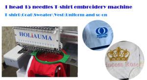 Holiaumaの卸し売り刺繍は1つのヘッドを機械で造る; Embroidery Machine Price Single Sequin Device 3D Sewing Cap Flat Embroidery Machine Swf Barudanを動かしなさい
