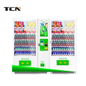 Npt 2018 Hot vender máquina de venda automática com grande capacidade e tela de Publicidade