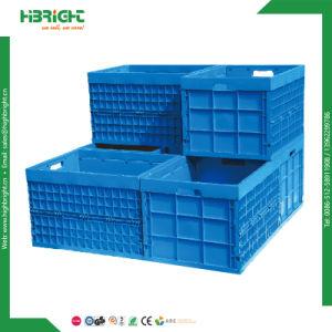 Contenitore piegante dei silos di immagazzinamento di Tote accatastabile pieghevole di plastica dei contenitori