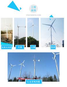 3kw 5kw 10kw 20kw del generador de viento del sistema de red con los paneles solares