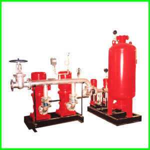Gruppo centrifugo della motopompa antincendi della singola fase