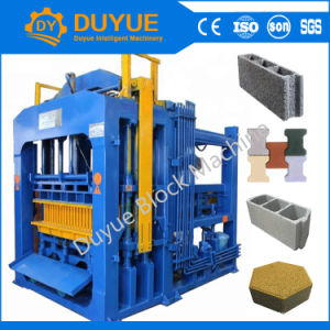 Qt Donyue8-15 machine à fabriquer des blocs de béton hydraulique machine à briques creuses pour la vente de la chaussée de couleur