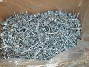 Hete Verkoop 50mm van de Fabriek van China de Gegalvaniseerde Spijker van het Dakwerk