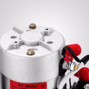 12V 4クォート車の上昇ダンプのトレーラーのために単動油圧プラスチックポンプ電源の単位