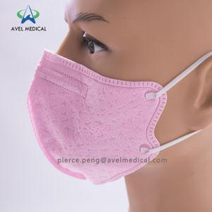 Розовый Ce Сложить защитные пылезащитную маску респиратор для защиты клапана выдоха