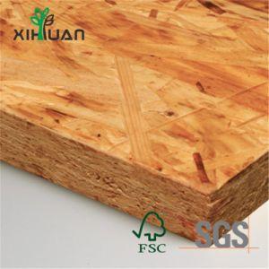 1220x2440mm venda quente OSB 3 USD Material do piso com cola WBP