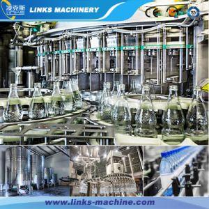 Automatische Vloeibaar drinkt het Vullen van het Flessenspoelen van de Drank het Afdekken Machine