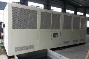 refrigeratore di acqua raffreddato aria a forma di scatola della vite 140ton