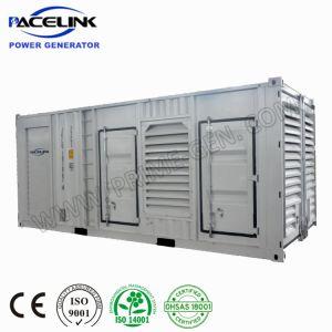 750kVA Aangedreven Cummins Containerized de Geluiddichte Diesel Reeks van de Generator met de Interne Automatische Bank van de Lading
