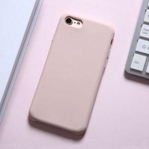 Líquido de alta qualidade Caso Telefone de silicone para iPhone 6 7 8 X