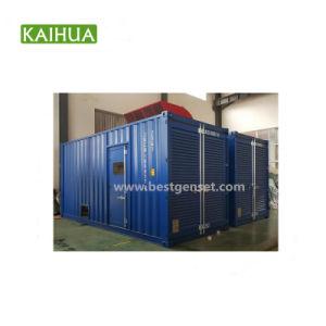 generatore messo in recipienti del motore diesel di 750kVA Cummins da vendere con l'OEM