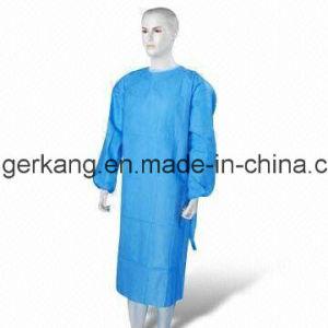 Bata quirúrgica desechable con CE