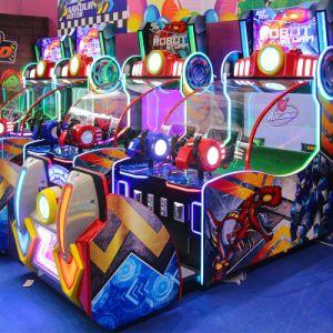 ビデオが付いている熱い販売のロボット嵐の球の射撃のアーケード・ゲーム機械