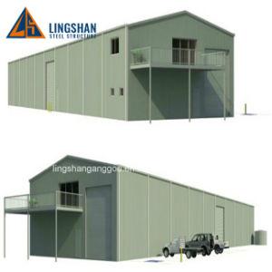 La luz de almacén de prefabricados de estructura de acero Taller de Construcción en Australia