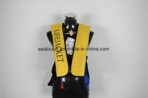 Venda por grosso Custom Marine CO2 jaqueta de vida insufláveis