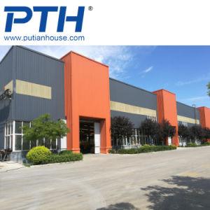 1000m2 de alta calidad a bajo costo de la casa prefabricados viga H-estructura de acero para almacén/ Nave