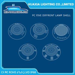 indicatore luminoso subacqueo LED della piscina fissata al muro riempito resina di 12V