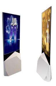Impression recto verso super mince publicité Qled kiosque avec Android ou Windows OS