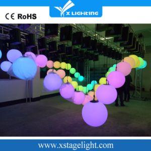 Fabricación cinética LED ilumina el LED Bola de elevación