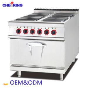 カウンタートップのガスのパスタの炊事道具