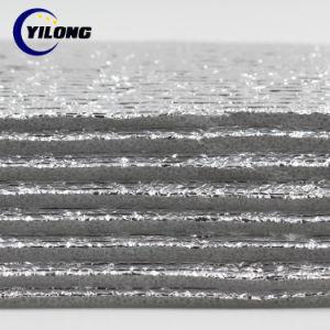 L'argent soutenu d'aluminium isolant en mousse polyuréthane