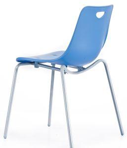 Четыре стальных ноги противоударная PP обеденный стул