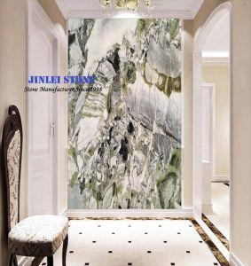 Grüner Marmoreis Jade Grünonyx Marmor Für Treppe/Wand Fliese/Countertop