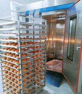 32 de Lujo en bandejas de horno giratorio de gas para la fábrica de panadería (CMA-R32).