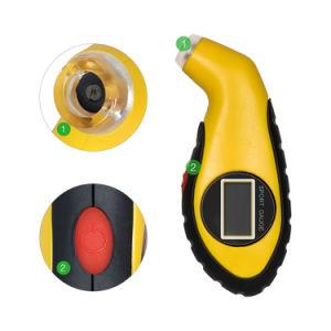 Nouveau Psi pneu numérique Testeur de jauge de pression des pneus pour voiture de l'outil Auto Moto Psi Kpa Bar