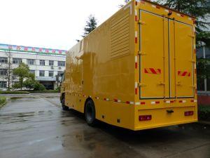 200kw 250kVA 비상 지휘권 공급 차량 Portable Genset