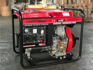 Geöffneter Rahmen-Dieselgenerator 5kw