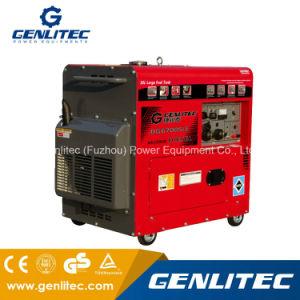 Refroidi par air 5000W Long terme générateur diesel silencieux Portable (DG6700ELS)