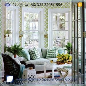 Vidro temperado de segurança claras Greenroom Espessura personalizada
