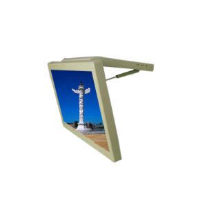 22 Polegadas Manual para trás rodoviária monitor LCD