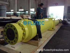 油圧梱包機のためのBore500/Rod300xstroke5600水圧シリンダ