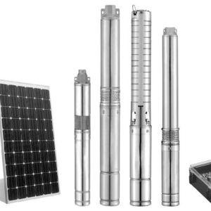 Además de la batería No sumergible Bomba de Agua Solar para la granja
