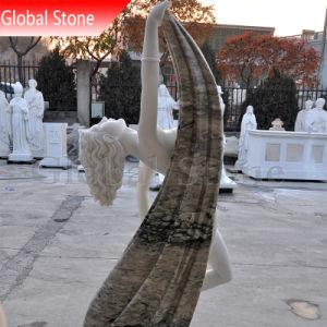 صنع وفقا لطلب الزّبون بيضاء حجارة رشيق رقص سيادة [فمل] [ستتث] ([غسّ-229])