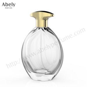 ODM/OEM Novo Produto vaso de perfume de vidro com tampa de Zamac