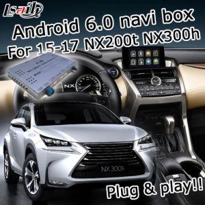 Android Market 6.0 Caixa do sistema de navegação GPS para a Lexus Nx200T NX300h 2014-2017 etc Caixa de interface de vídeo