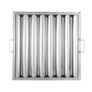 Haute qualité en acier inoxydable 304 Hotsell UL de la graisse des filtres du déflecteur